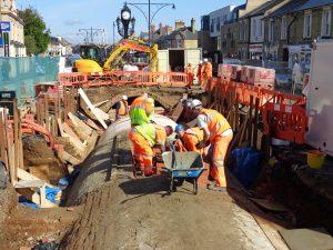 Men working on Tunnel